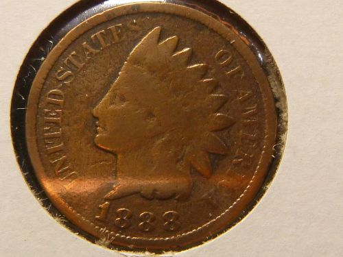 1888 P Indian Head Cent Small Cents