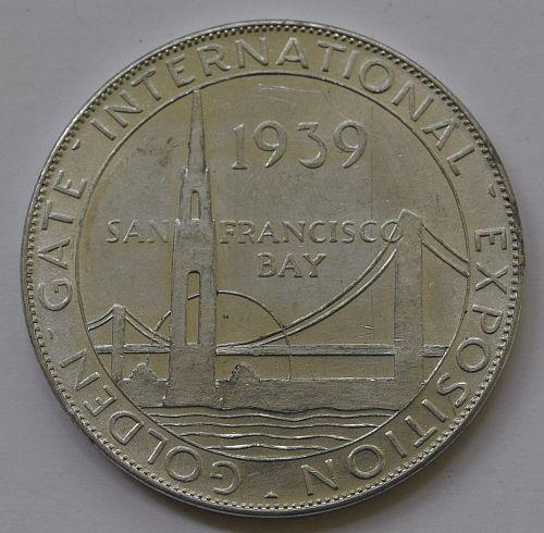 1939 GOLDEN GATE EXPO - UNION PACIFIC  ALUMINUM TOKEN