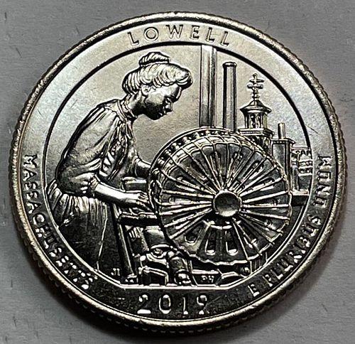 2019 D Lowell America The Beautiful Quarters. 31331