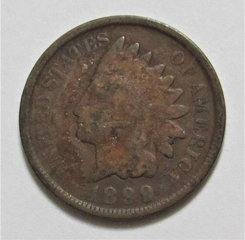 1899 1 Cent - Indian Head Cent