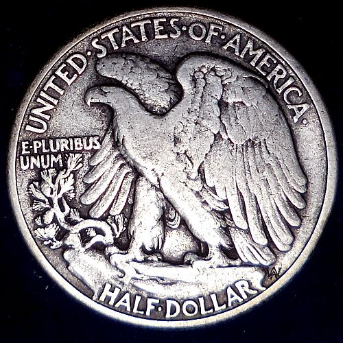 1942-P Walking Liberty Half Dollar