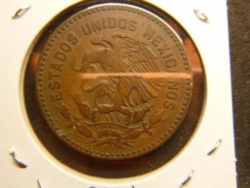 MEXICO 1956 CINCUENTA CENTAVOS