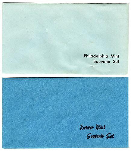 1982 Denver & Philadelphia Souvenir Set