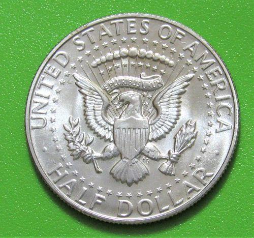 1965 50 Cents - Kennedy Half Dollar - 40% Silver