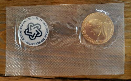 1976 American Revolution Bicentennial Commemorative Medal