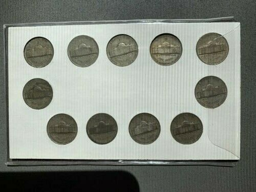Anco United States Wartime Silver Nickels