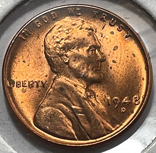 1948 D Lincoln Wheat Cent.  31452