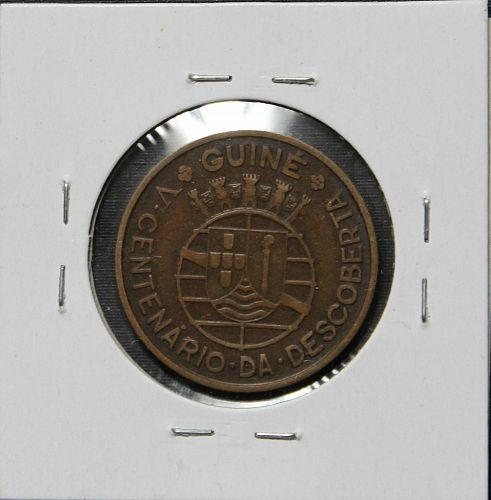 Portuguese Guinea 1946 1 Escudo