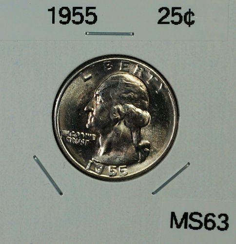 1955 Washington Quarter