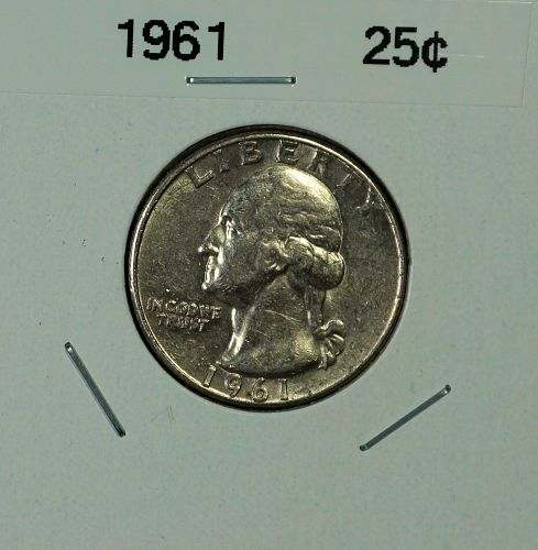 1961 Washington Quarter