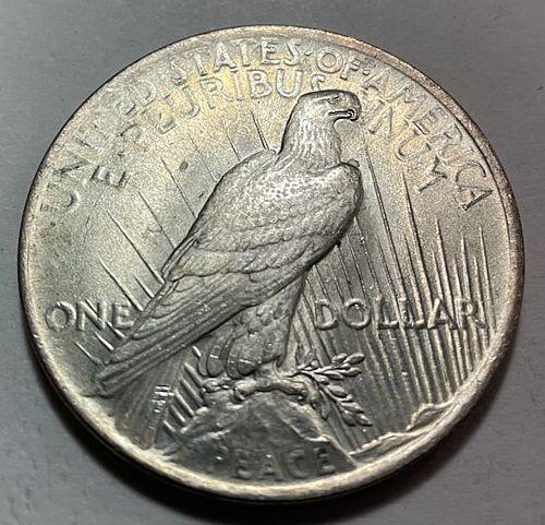 1923 Peace Dollars 31523
