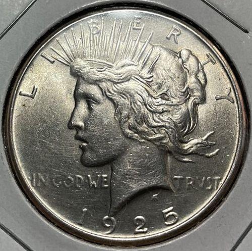 1925 Peace Dollars. 31431