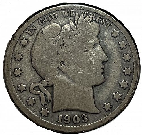 1903 O Barber Half Dollars.  31541