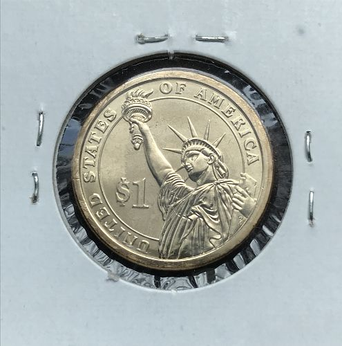2007-P Uncirculated Presidential Dollar Coin---George Washington (0621-2)