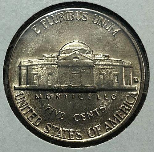 1959 D Jefferson Nickels.  31552