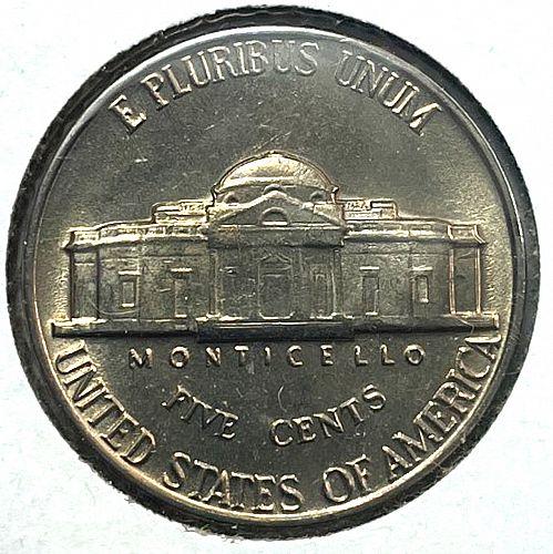 1960 Jefferson Nickels   31553