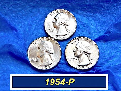 """1954-P  Sparkling BU Quarter ⭐️  Nice High Grade """"MS-63""""  ⭐️  (2008)"""