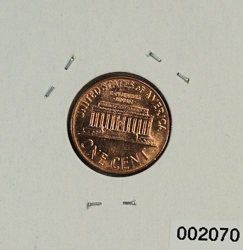1963 D Lincoln Memorial Cents