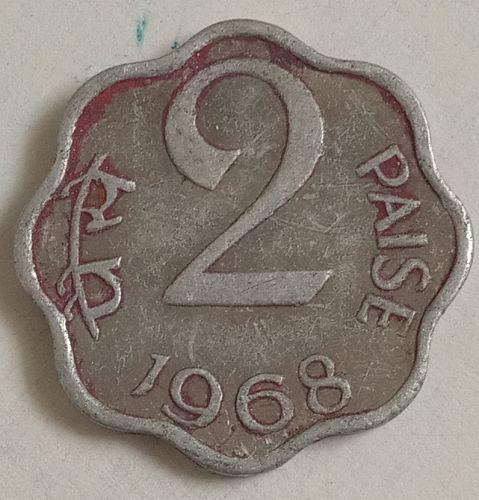 B8)........India coin..