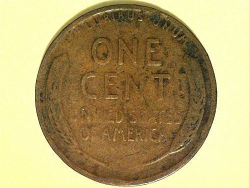 1927 P Lincoln Cent--Good