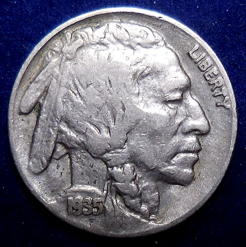 1935-P Buffalo Nickel
