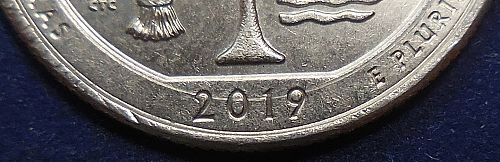 2019-P Texas Quarter - The Circle is Complete