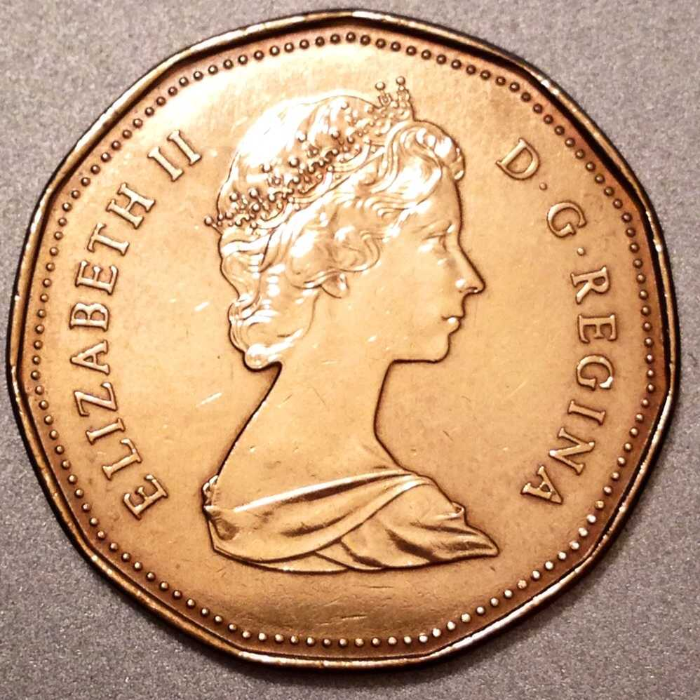 1988 Canada 1 Dollar Coin - for sale, buy now online ...