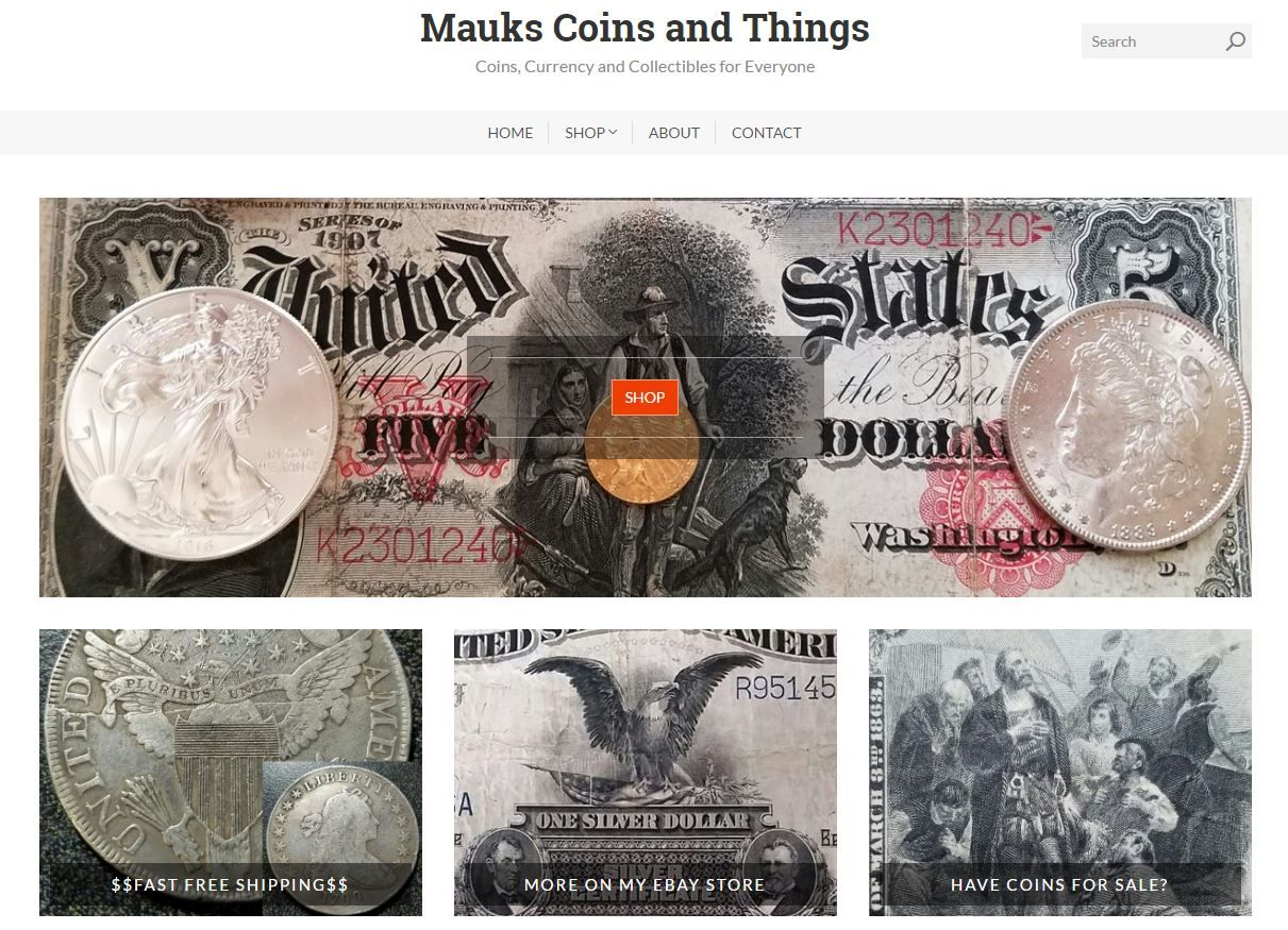 Mauks Coins and Things