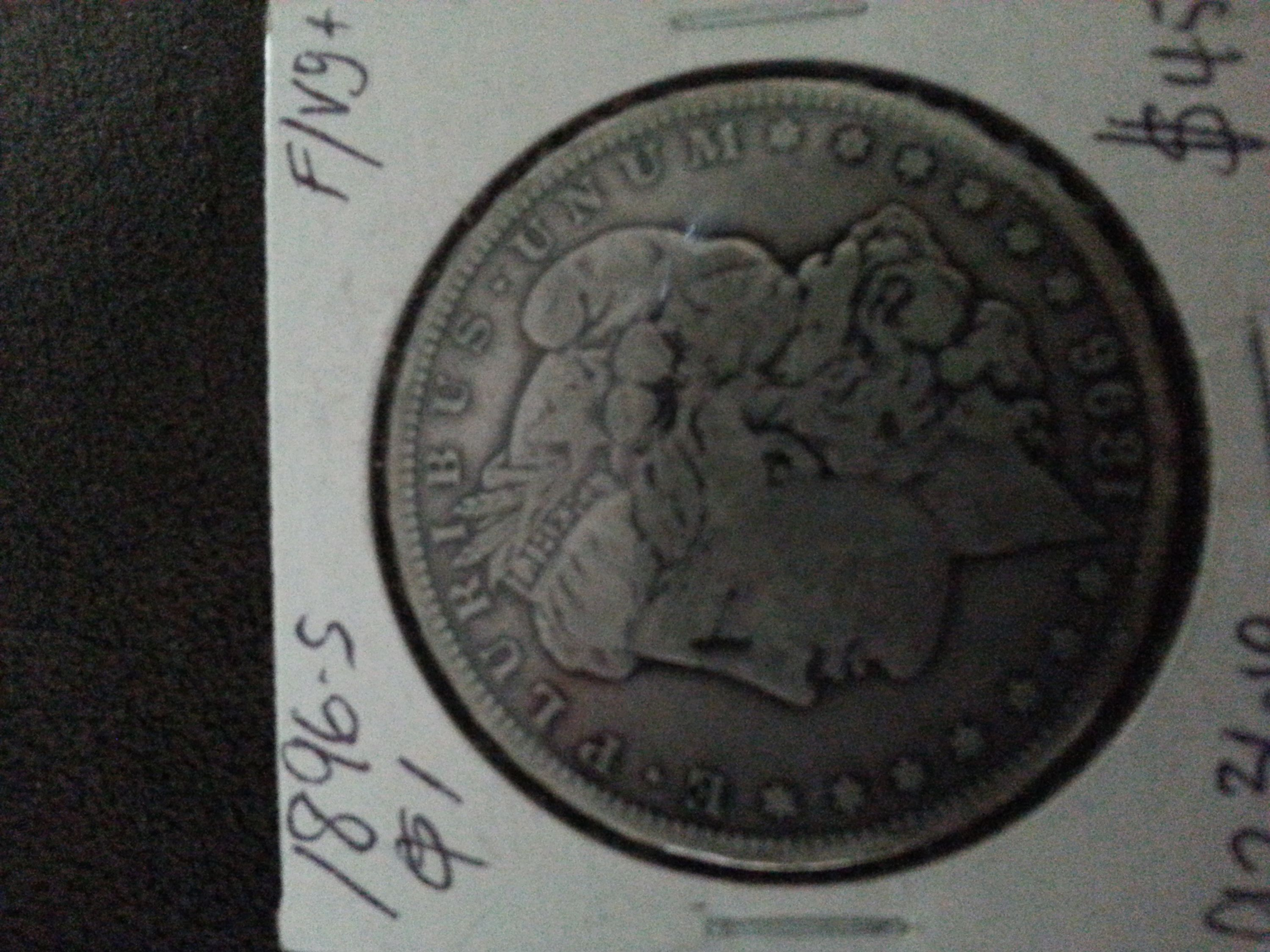 1896 S Morgan Silver Dollar Vg For Sale Buy Now Online