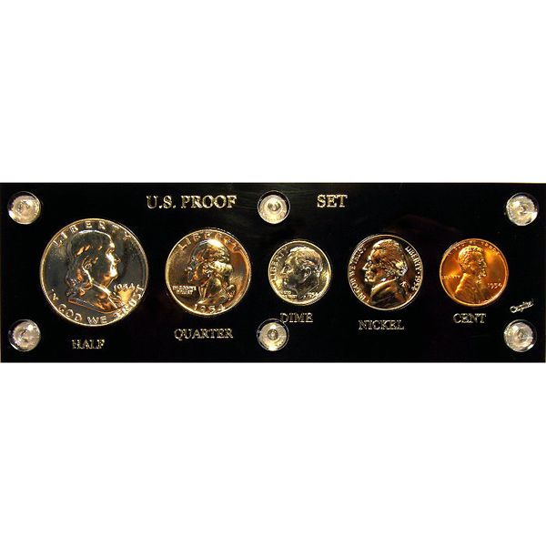 1954 Us Mint Proof 90 Silver Set For Sale Buy Now