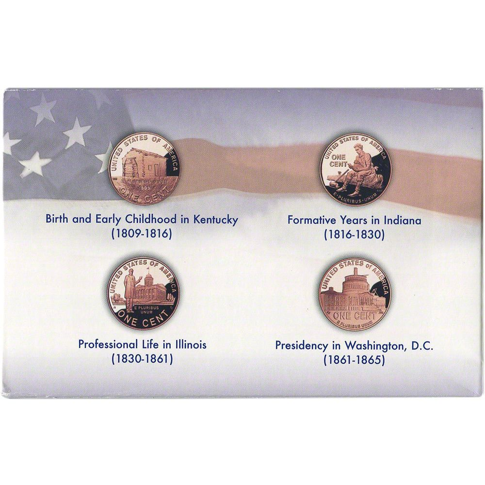 2009 S 1c Us Mint Bicentennial Set Lincoln Proof Cents For Sale Buy Now Online Item 104411