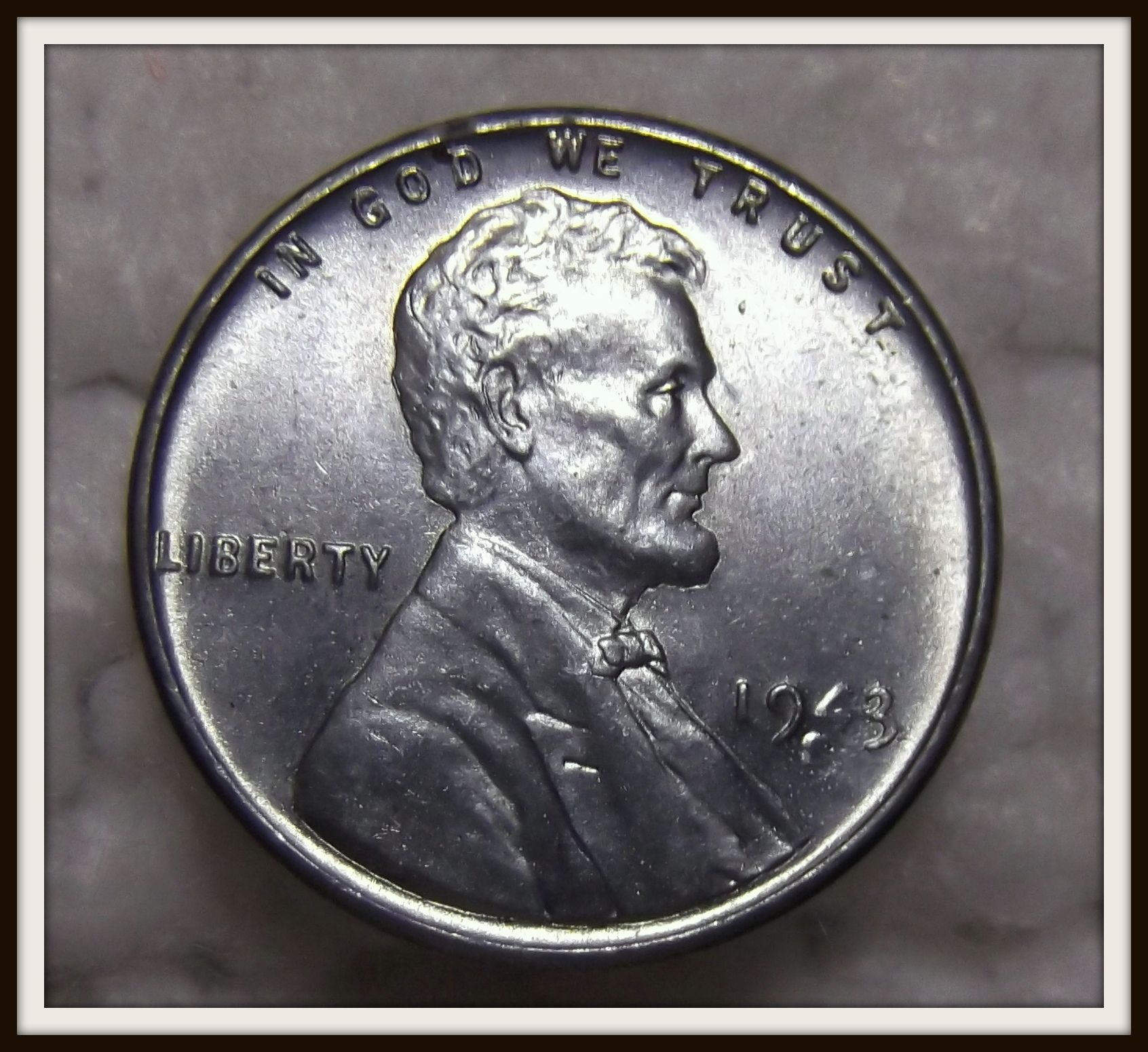 1943 S 1c Lincoln Wheat Ww2 Steel Cent Bu For Sale Buy Now Online Item 150833