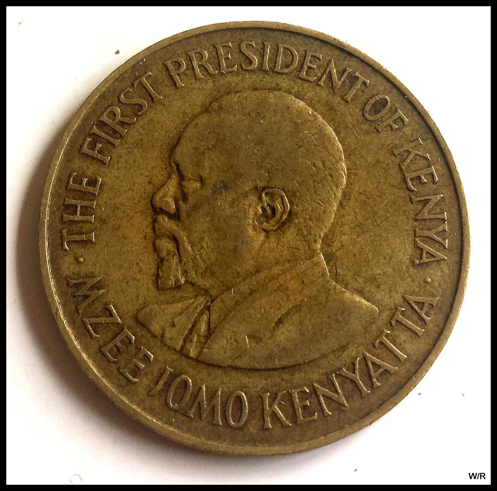 1970 Kenya 10 cent bronze coin - for sale, buy now online - Item #165079
