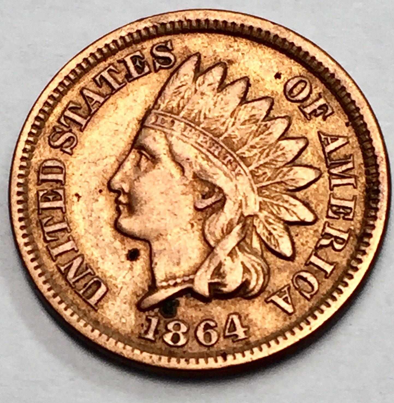 1864 Indian Head Cent Bronze Composite No L For Sale Buy Now Online Item 192443