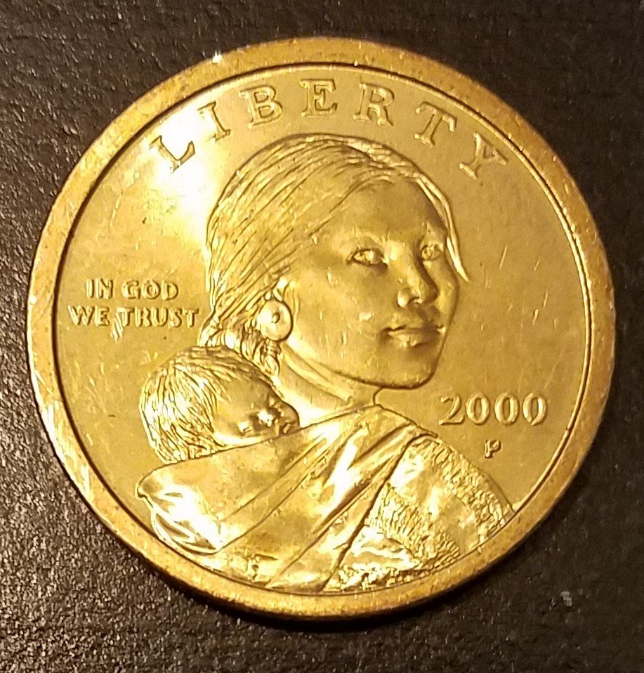 2000 p sacagawea dollar 7575 for sale buy now online for 2000 dollar cabin