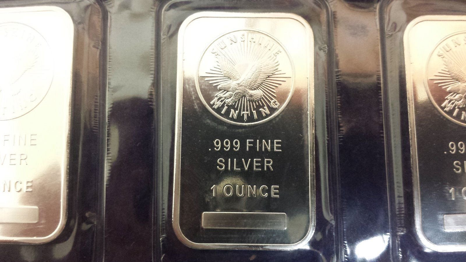 1 Sunshine Mint 1oz Ounce Silver Bar Combined