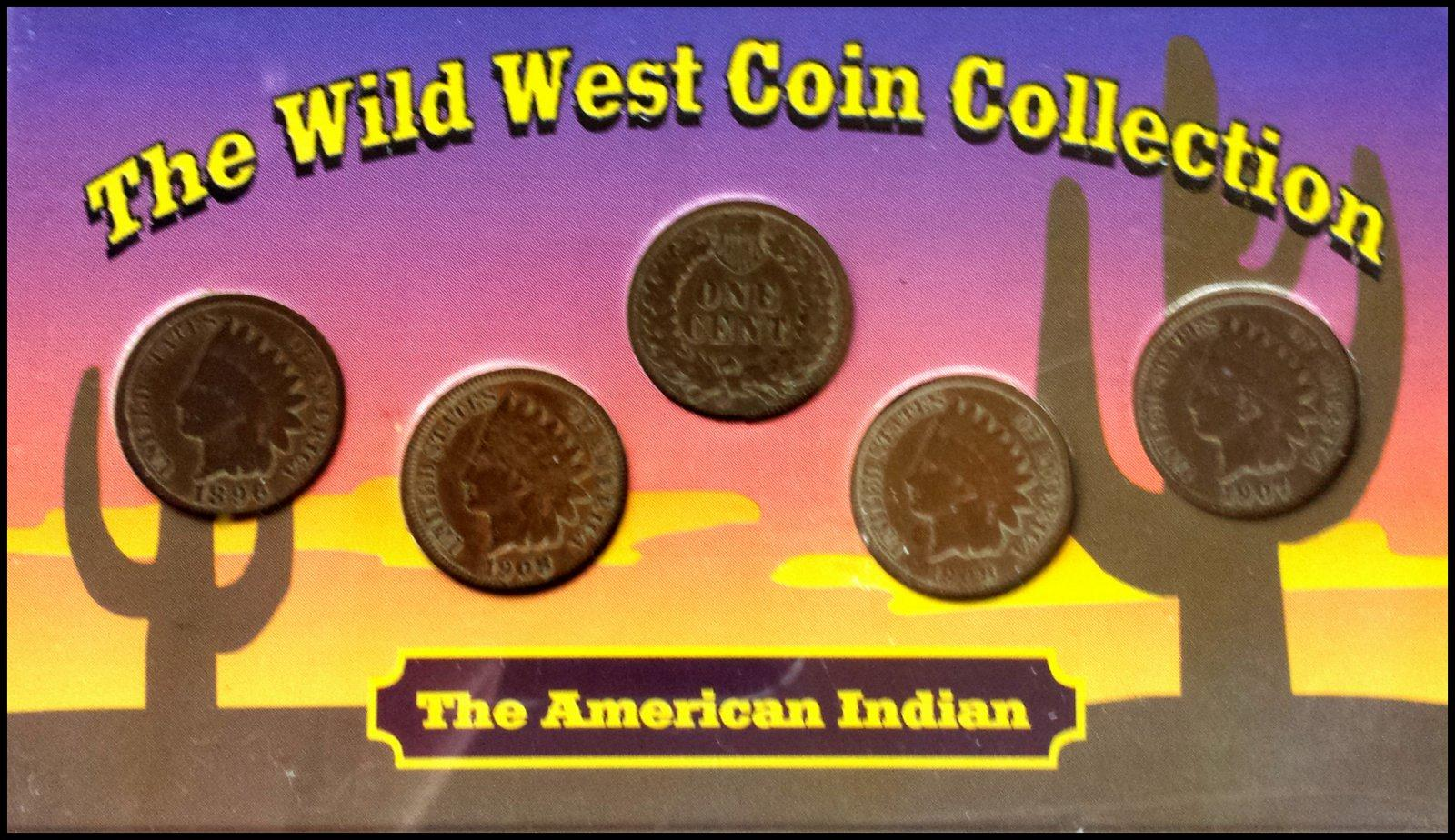 Coin Collection For Sale >> Wild West Coin Collection American Indian