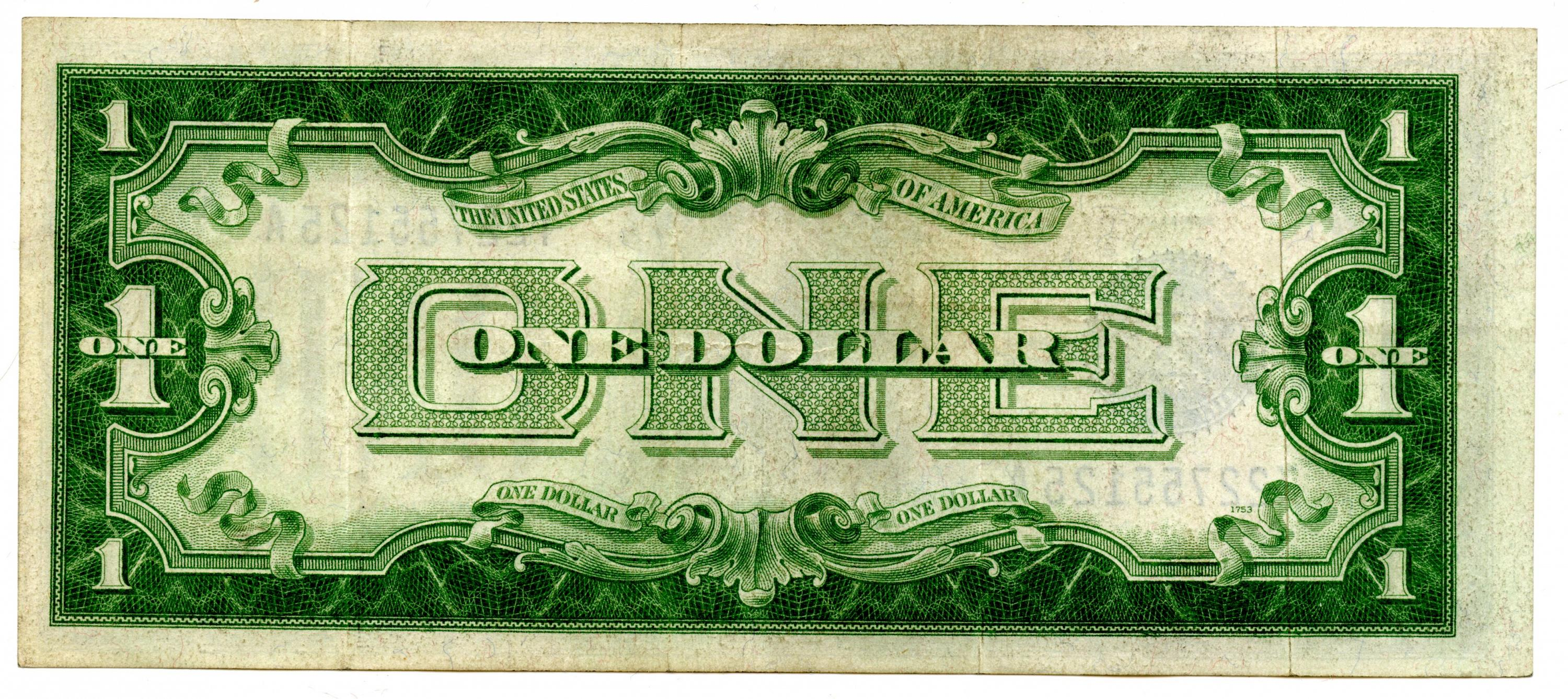 One Dollar Silver Certificate Series 1928 A For Sale Buy Now