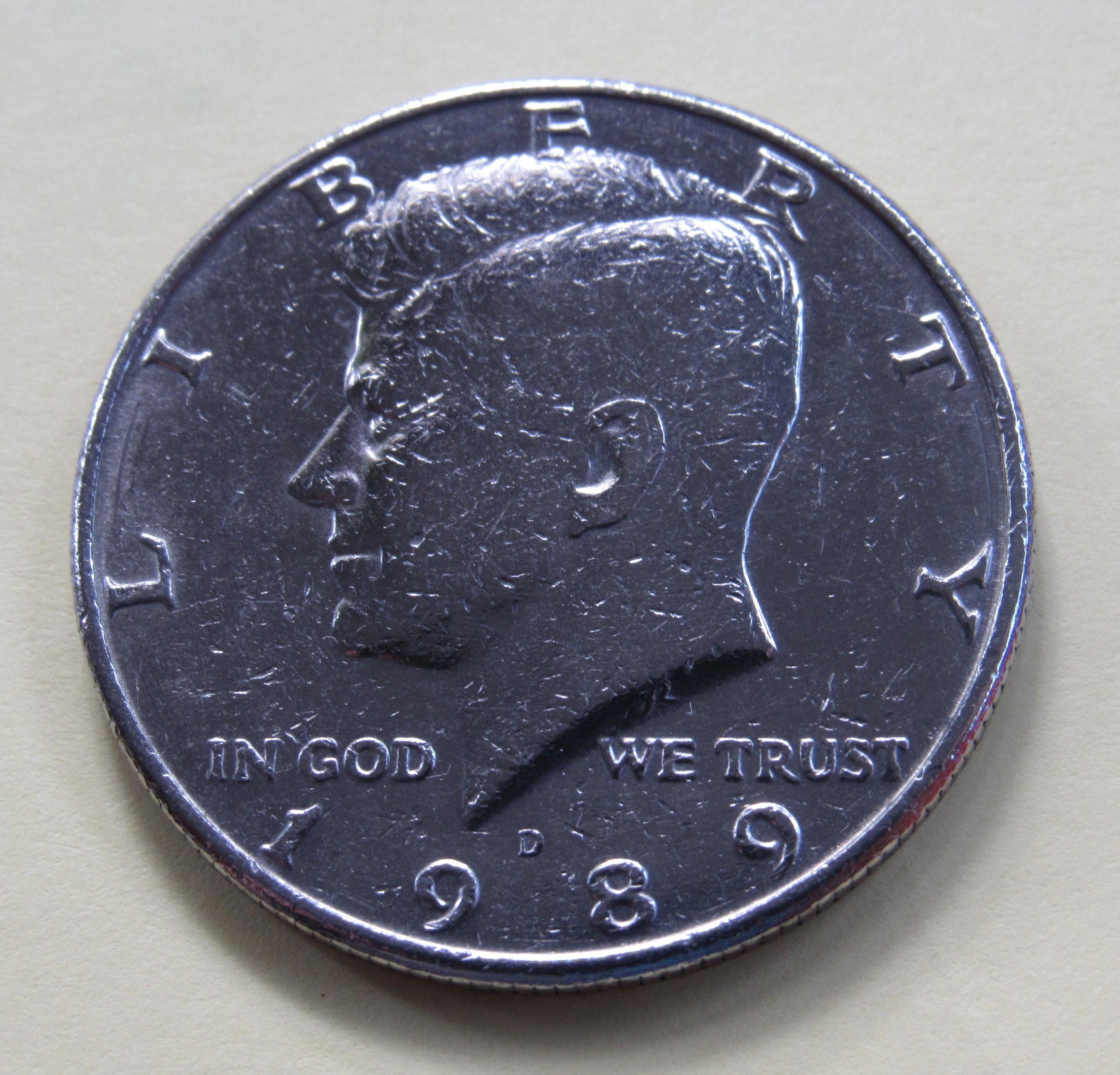 1989 D Kennedy BU Half Dollar