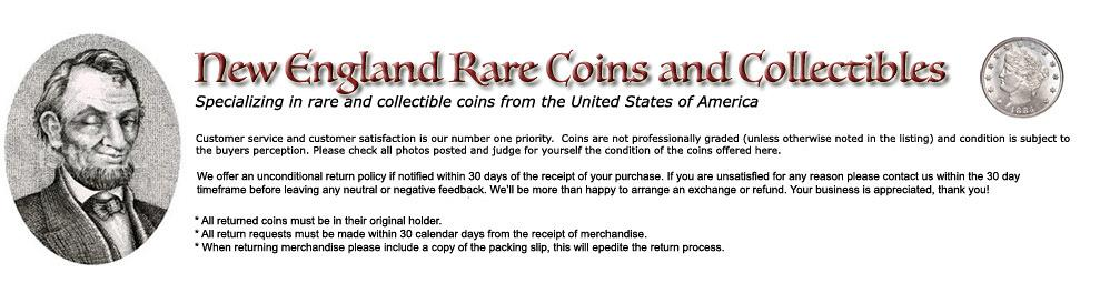 New England Rare Coins and Collectibles