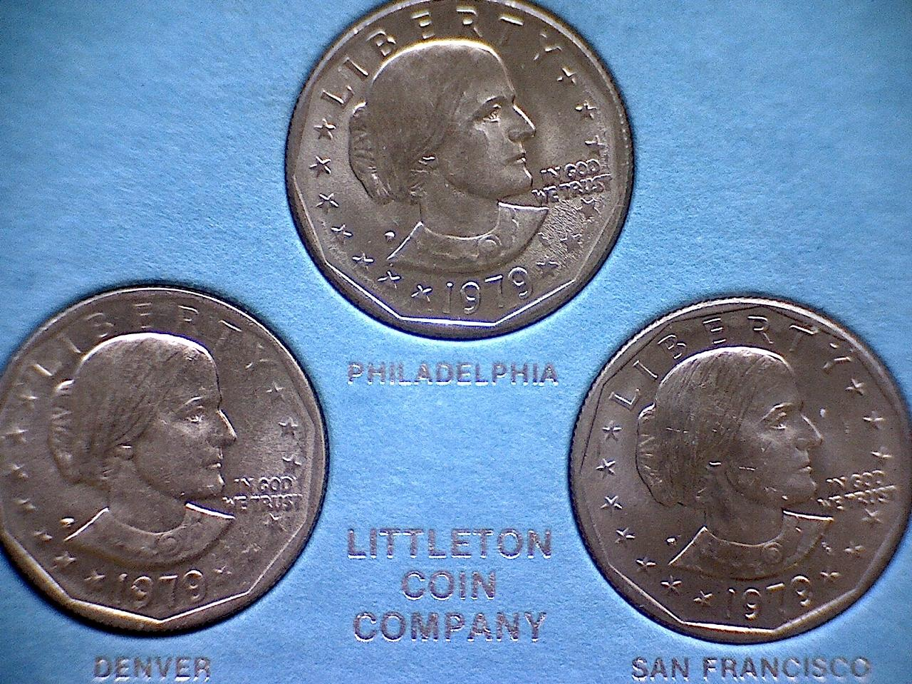 1979 P- D- S- SUSAN B  ANTHONY