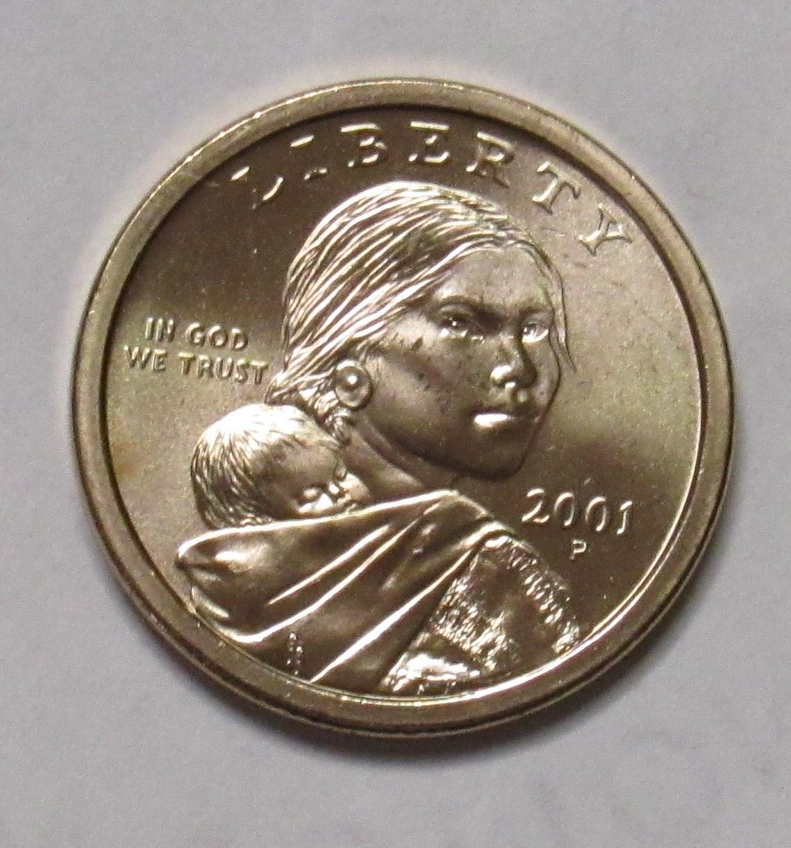 2001-P Sacajawea Dollar Brilliant Uncirculated^