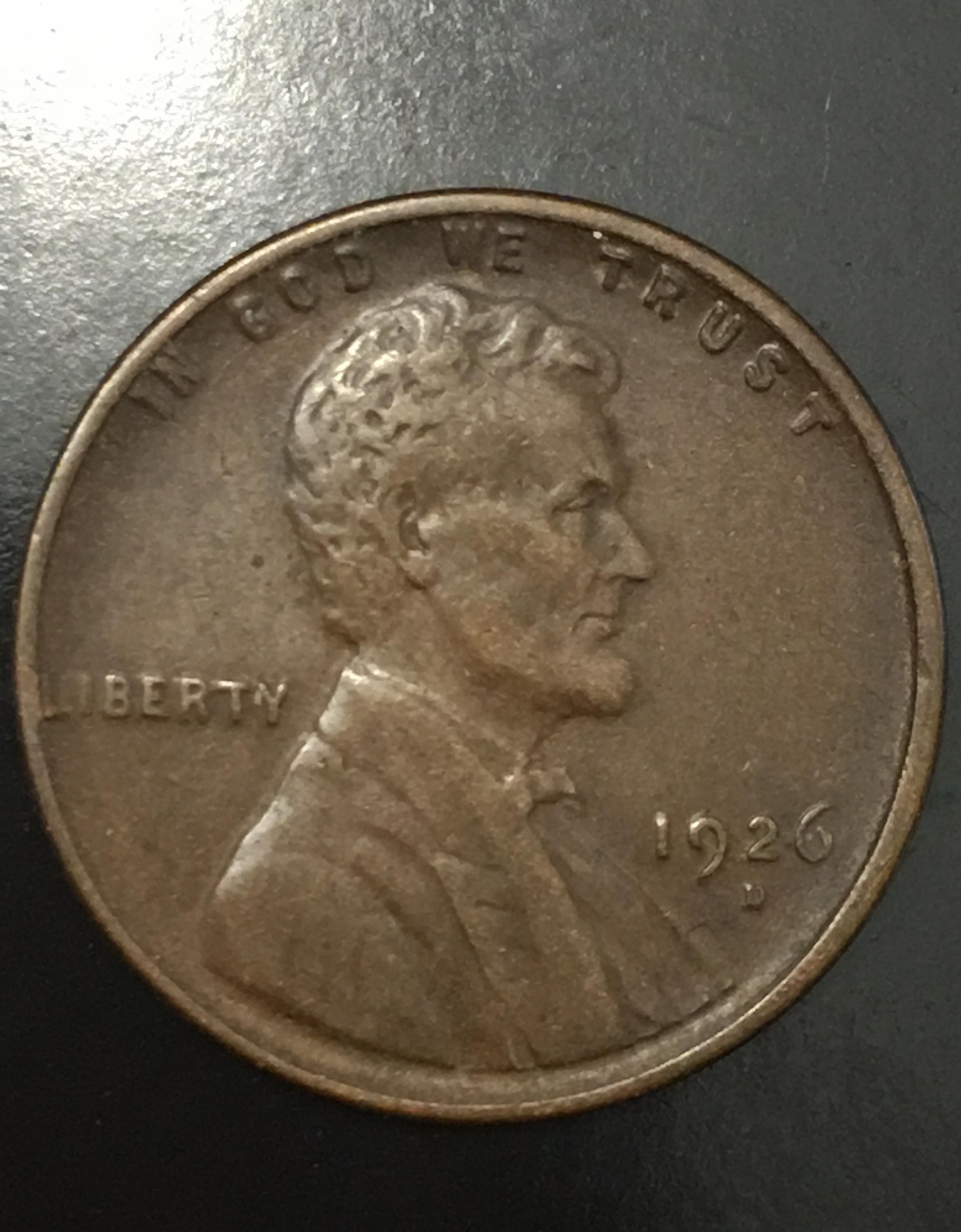 1926-D Wheat Penny