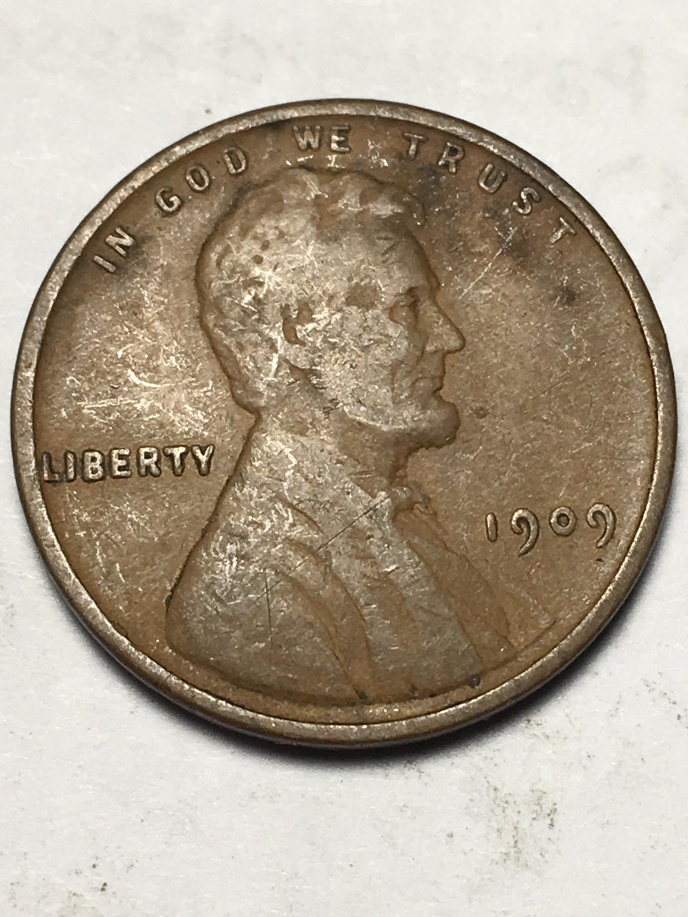 1909 VDB Wheat Penny Item 1118053