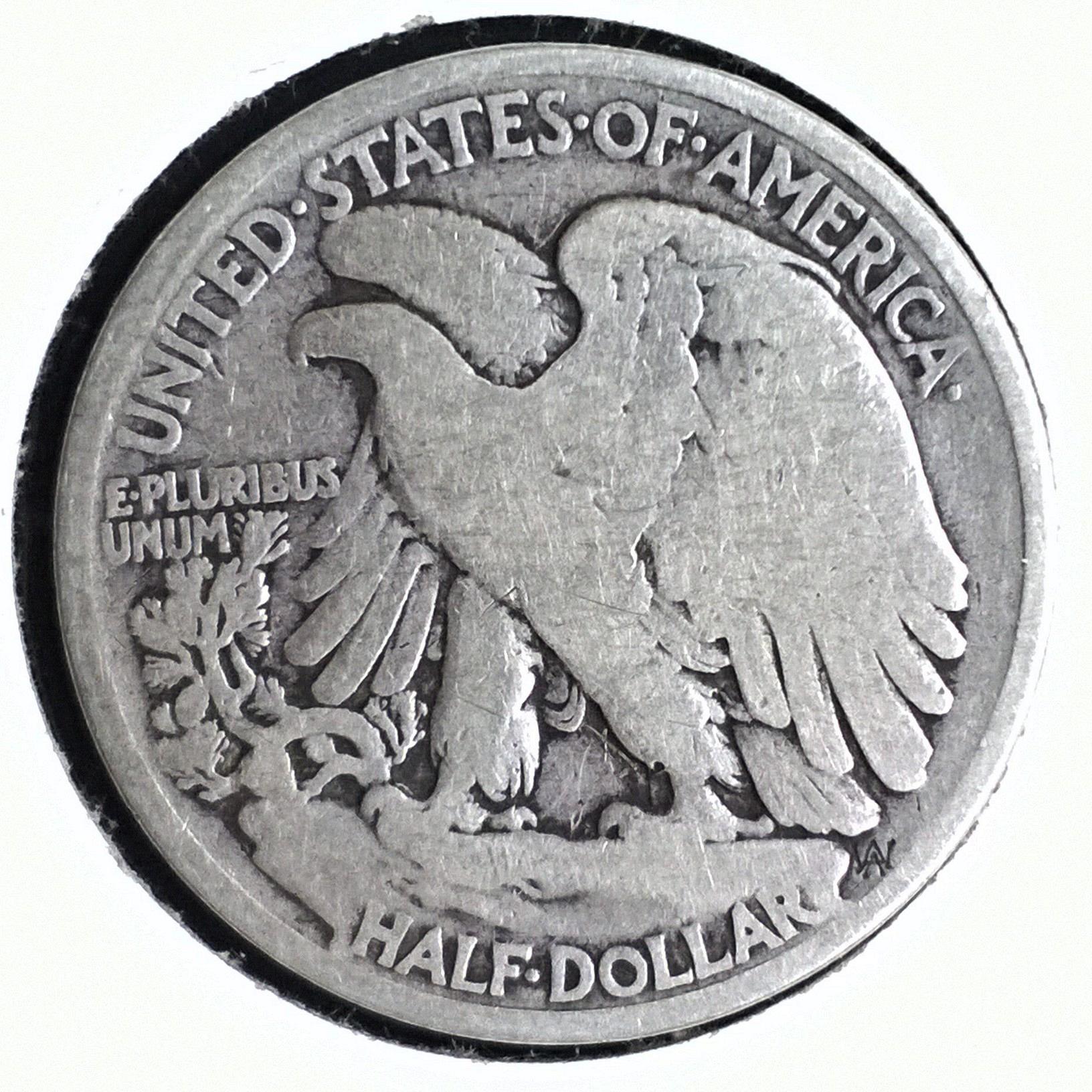 1934 P Walking Liberty Half Dollar - 6 Photos!
