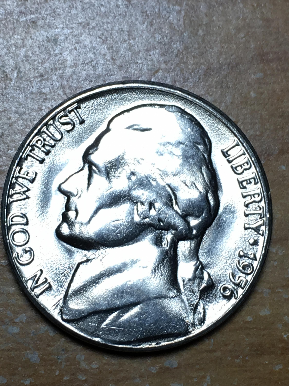1956 D Jefferson Nickel Item 0119130