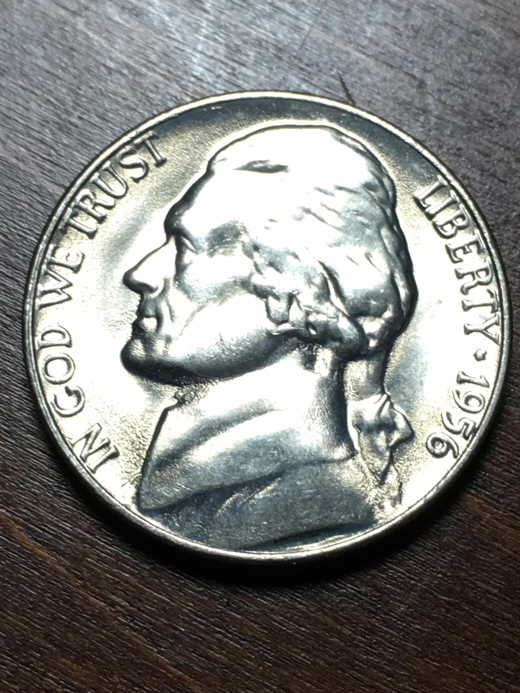 1956 Jefferson Nickel Item 0119259