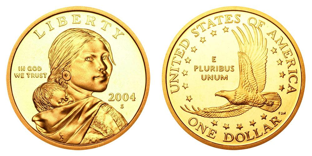 2004-S PROOF SACAGAWEA DOLLAR