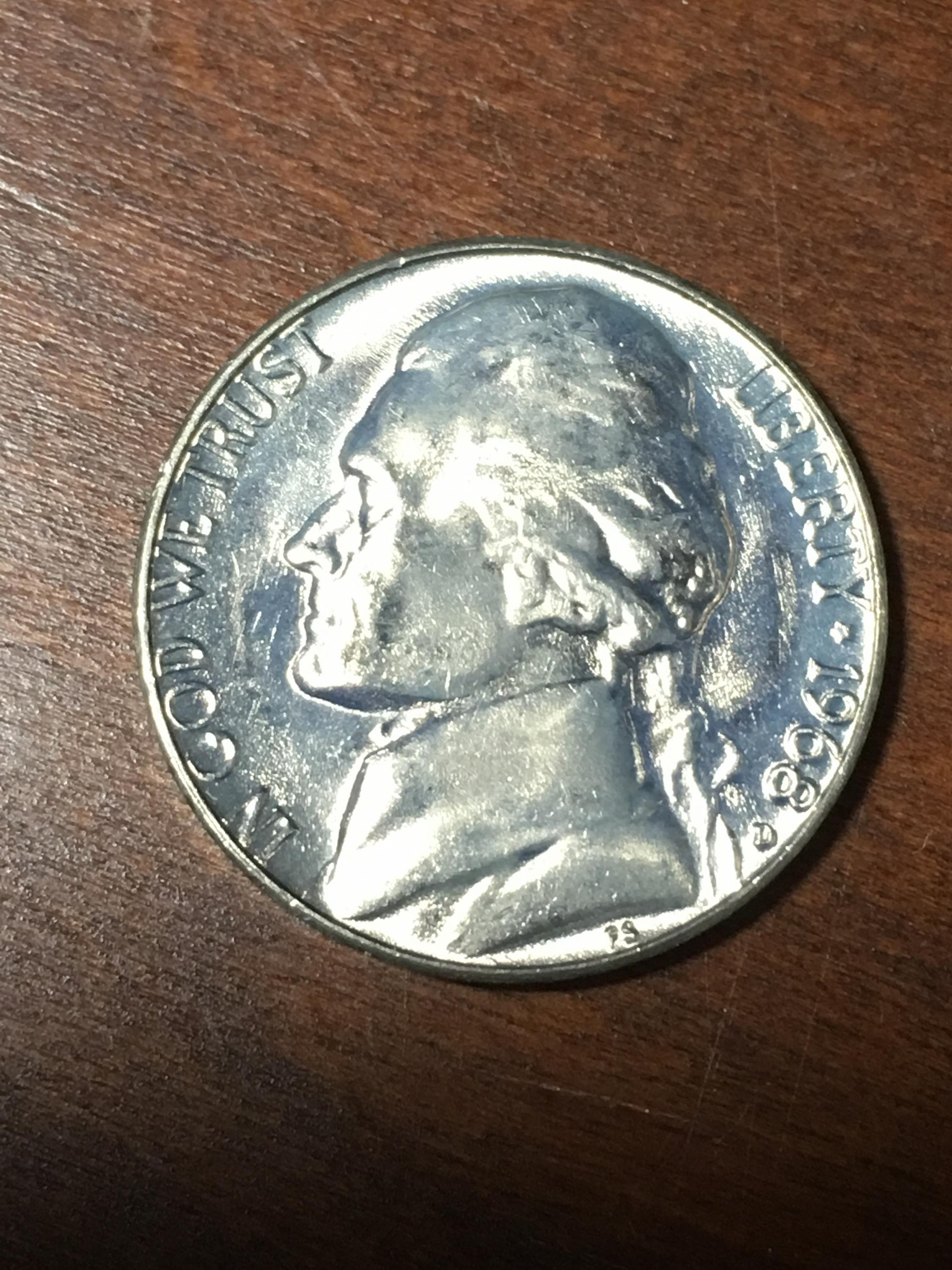 1973 P,D/&S Jefferson Nickels in BU and Proof condition