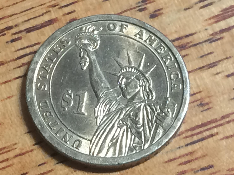 2009 P US Dollar Coin John Tyler in BU Condition
